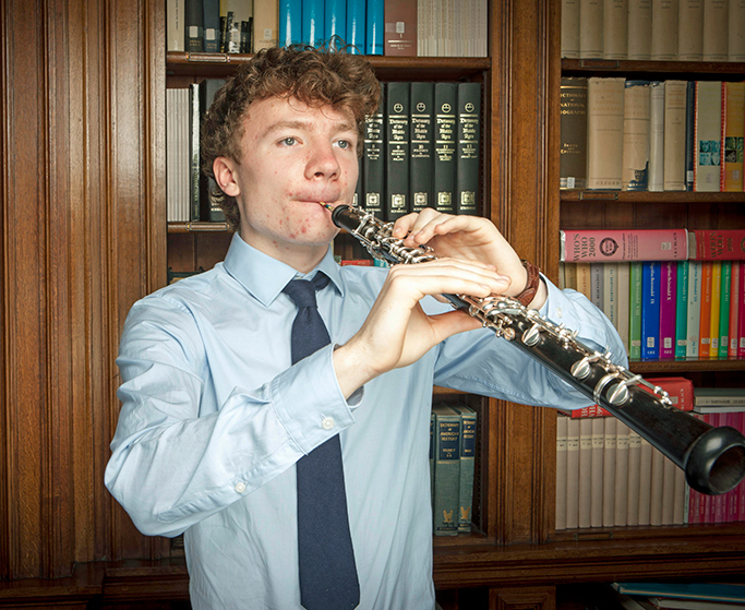 Gregynog Young Musician of the Year – 2018 - Ewan Millar - Oboe