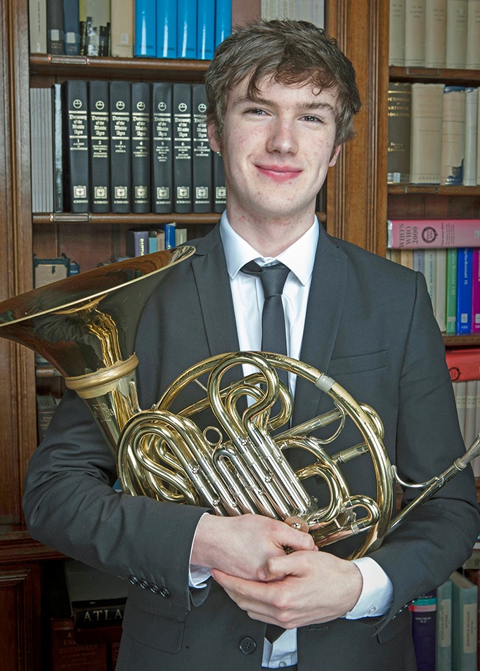 Gregynog Young Musician of the Year – 2018 - George Striven - Brass