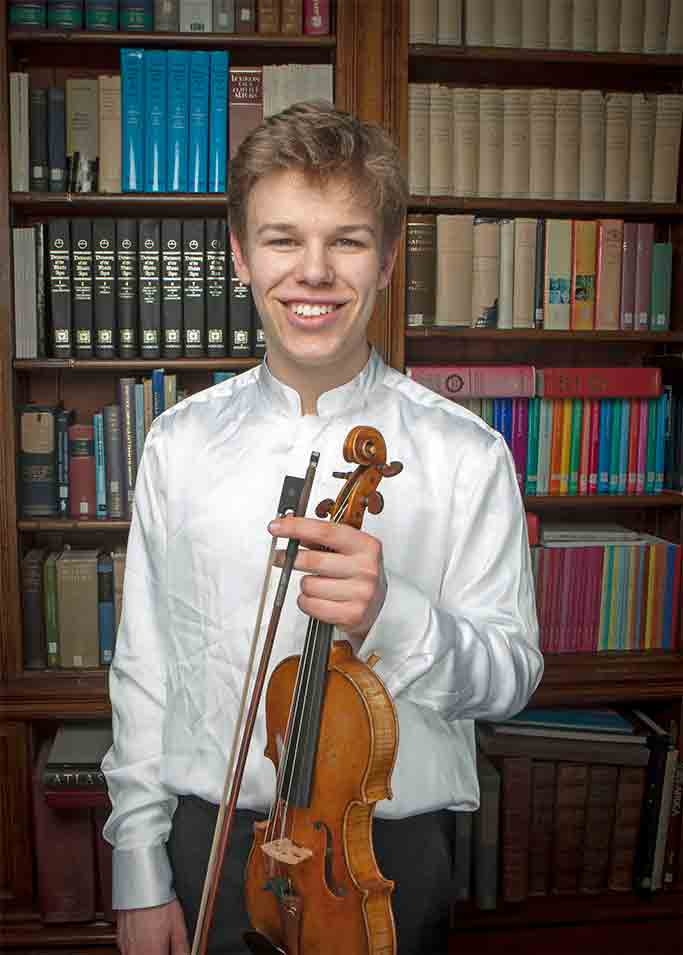 Gregynog Young Musician of the Year – 2018 - Joint Young String Player of the Year
