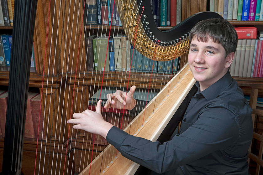 Gregynog Young Musician of the Year – 2018 - Huw Boucher - Harp