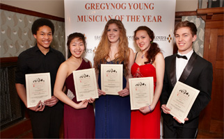 Gregynog Young Musician Competition – 2014 Finalists