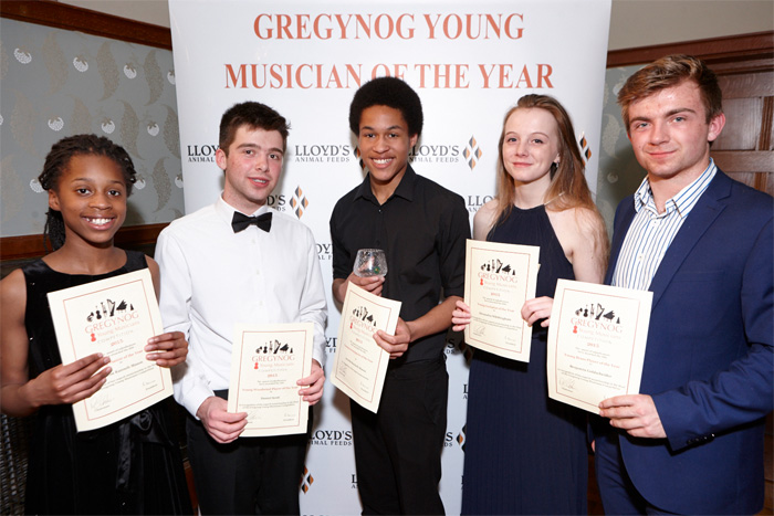 Gregynog Young Musician of the Year – 2015