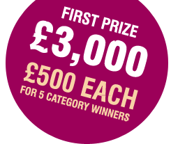 First Prize £3000